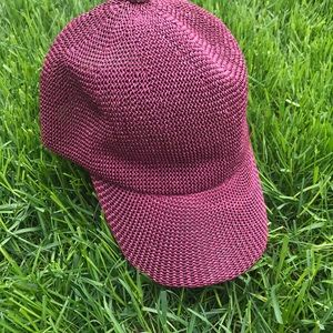 boutique Accessories - Straw baseball hat